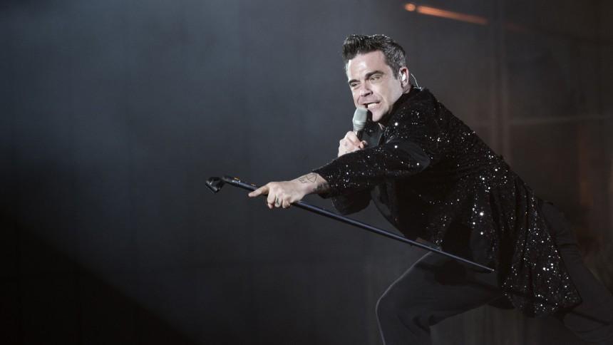 Robbie Williams till Sverige