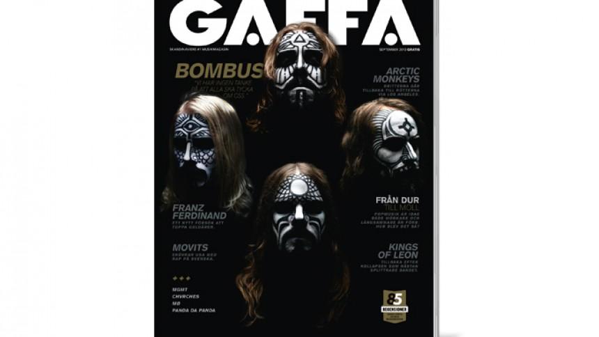 Nytt nummer av GAFFA ute nu