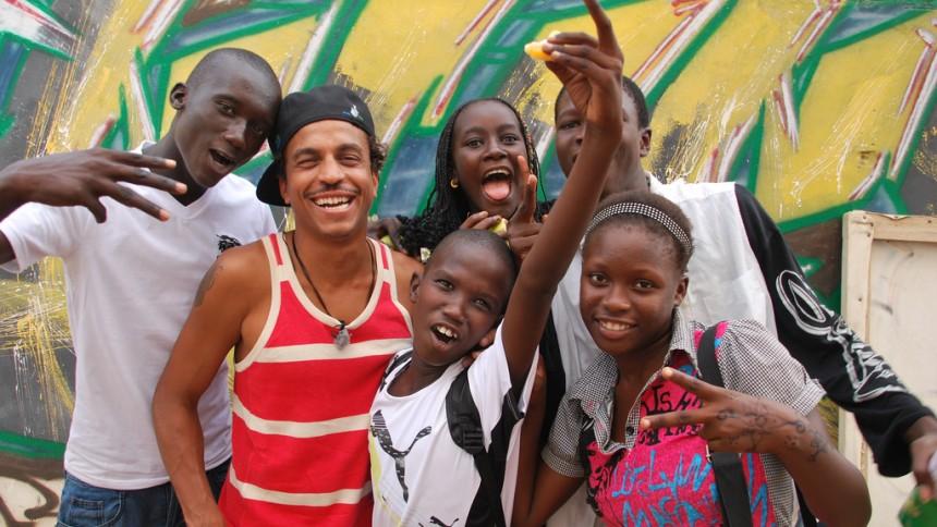 Stötta musik på Afrikas västkust med Timbuktu