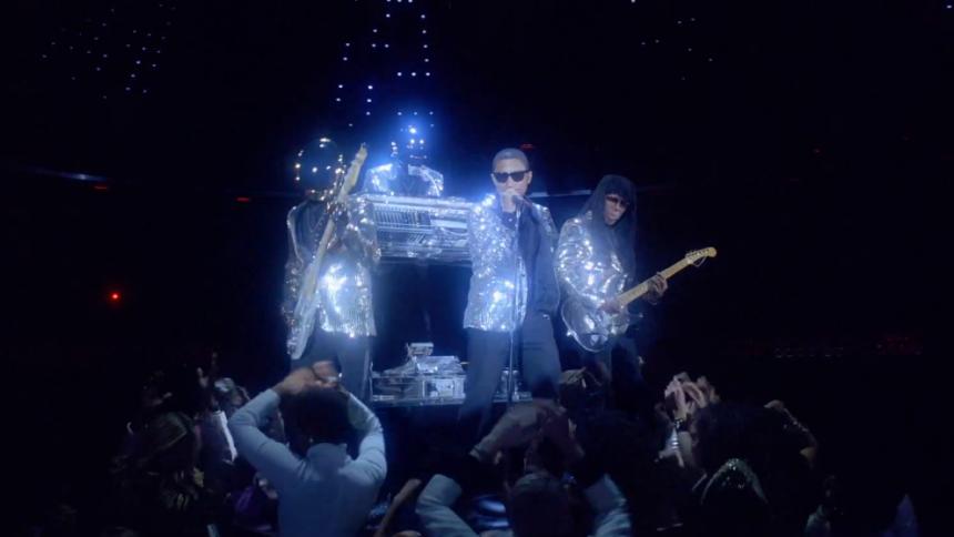 Se Daft Punks glittrande nya video