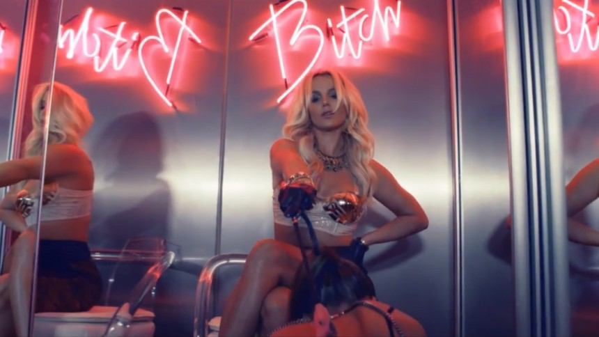 Britney Spears nya video bannlyst