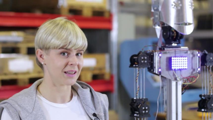 Robyns robot färdigbyggd