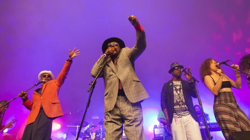 George Clinton & Parliament-Funkadelic : Vanguard Festival, Köpenhamn