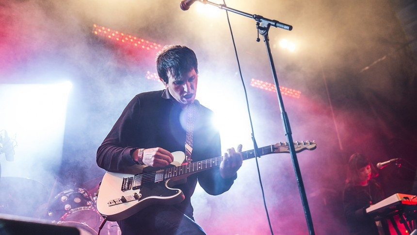 The Pains Of Being Pure At Heart : Popaganda, Lilla Scen