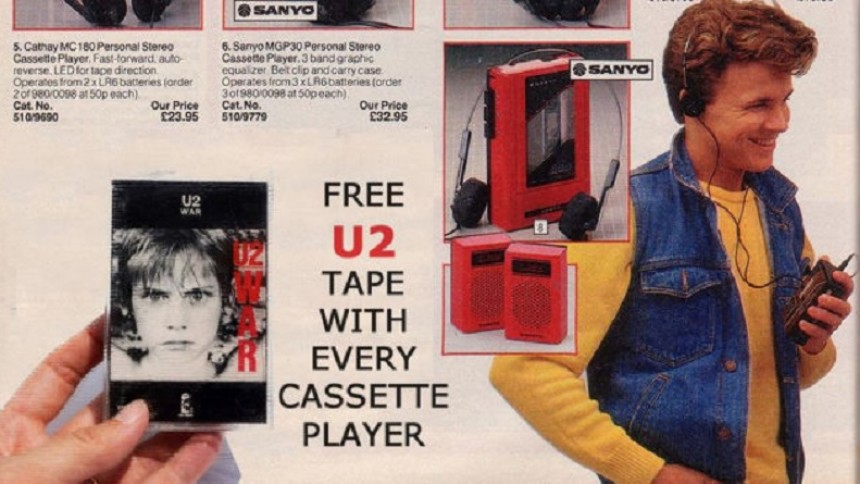 Gick du också på U2:s kassettannons?