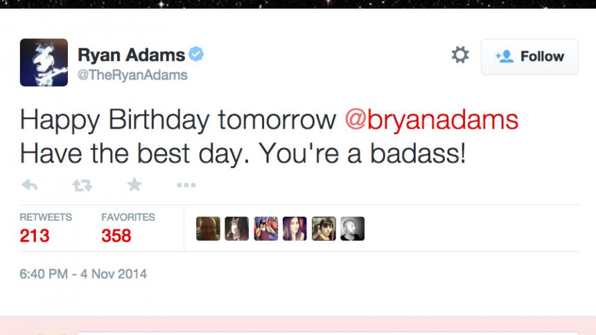 Kolla in Adams-killarnas grattismys på Twitter