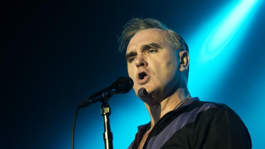 Morrissey bar högerpopulistisk pin under TV-framträdande