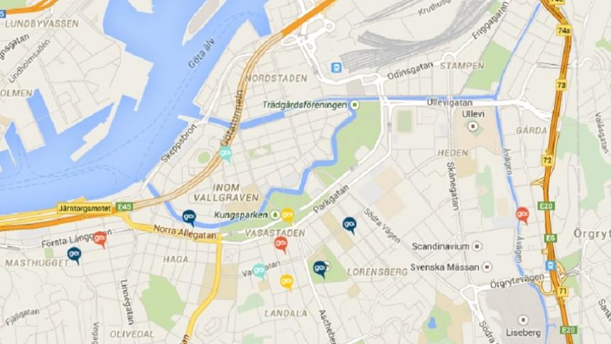 göteborg karta KARTA: Här är Håkan Hellströms Göteb| GAFFA.se göteborg karta
