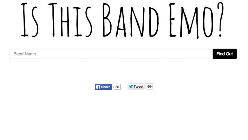 Är ditt favoritband emo? Här finns svaret