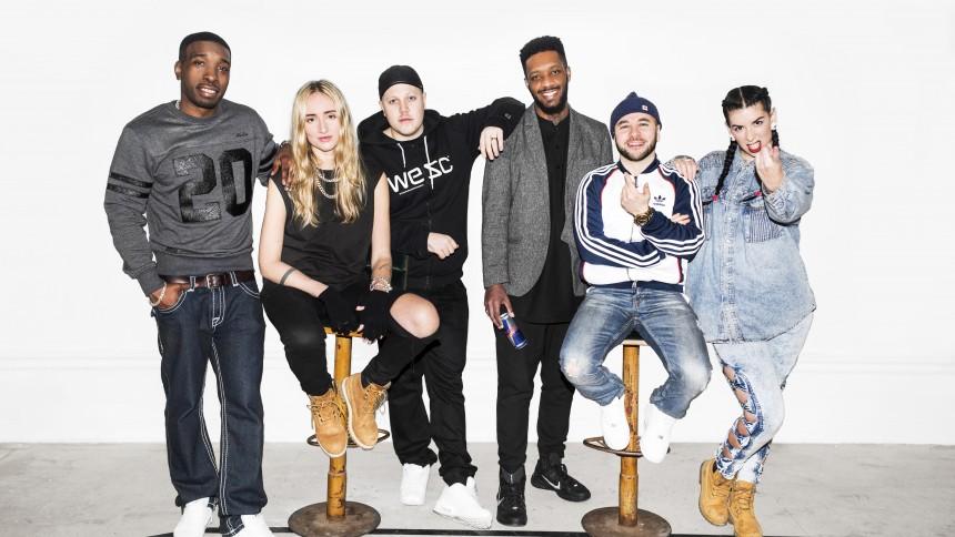 Svenska hiphopeliten coachar unga talanger – i Paris