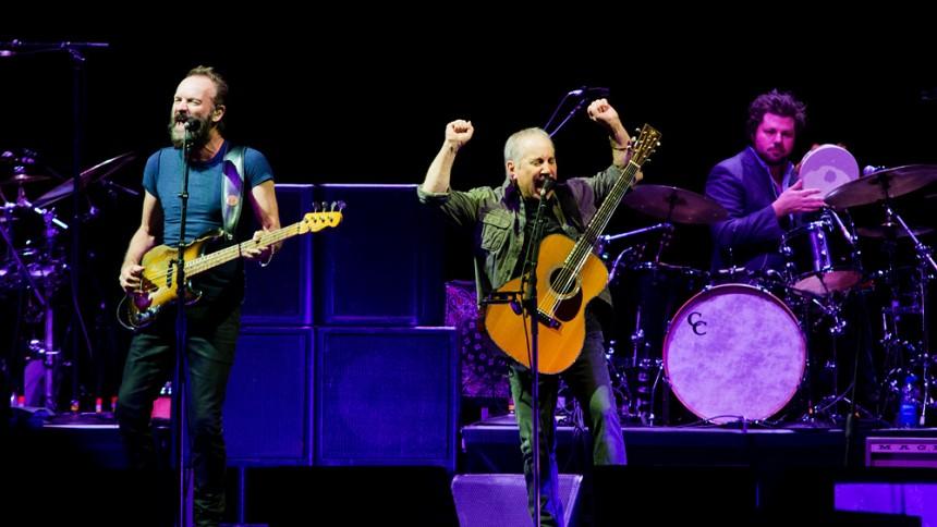 Så bra var Paul Simon och Sting i Globen
