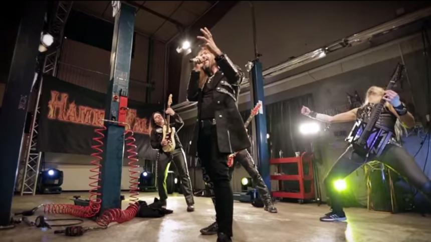 ''Det är helt sjukt'' – se när Hammerfall chockar sina fans