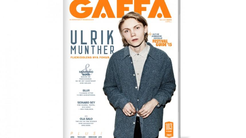 Nytt nummer av GAFFA + Festivalguide ute nu!