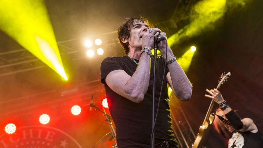 Ramones-medlemmen på lång Sverigeturné