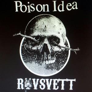 Poison Idea Och Rövsvett: Split EP