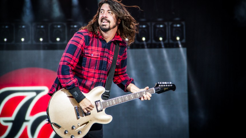 Foo Fighters till Norden – nobbar Sverige