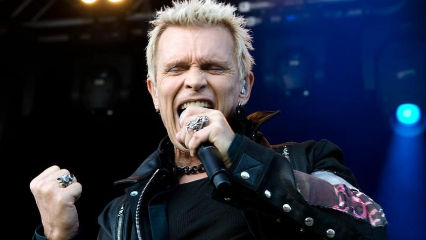 Billy Idol: Gröna Lund, Stockholm