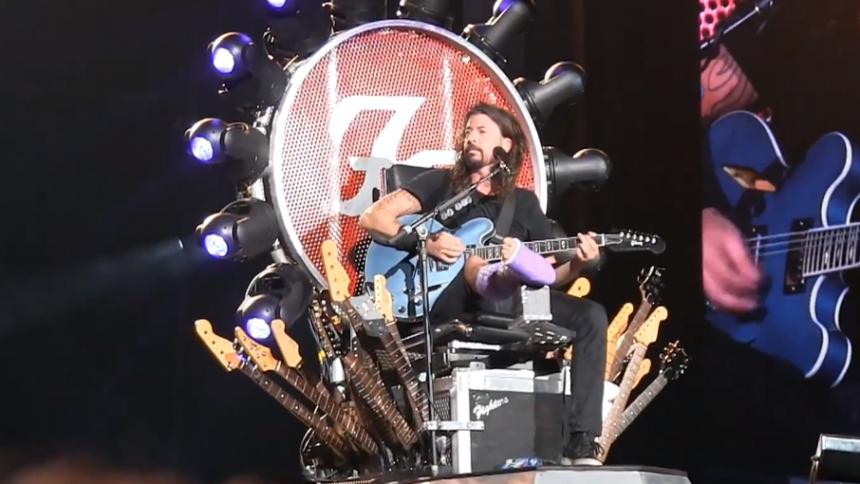 Foo Fighters höll vad de lovade – se Grohls känslosamma tal