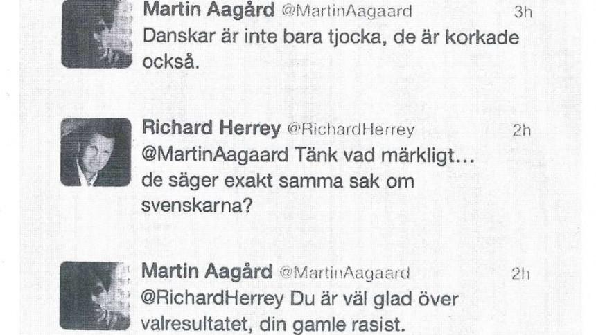 Richard Herrey stämmer Aftonbladet