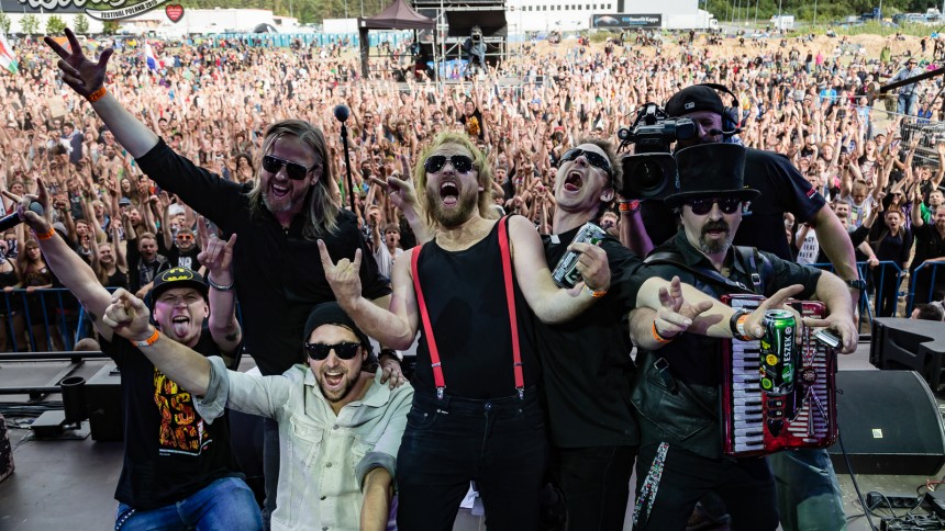 Full ljudtekniker sabbade punkfestival