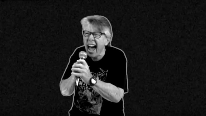 Se 67-åring vråla i sann grindcore-anda