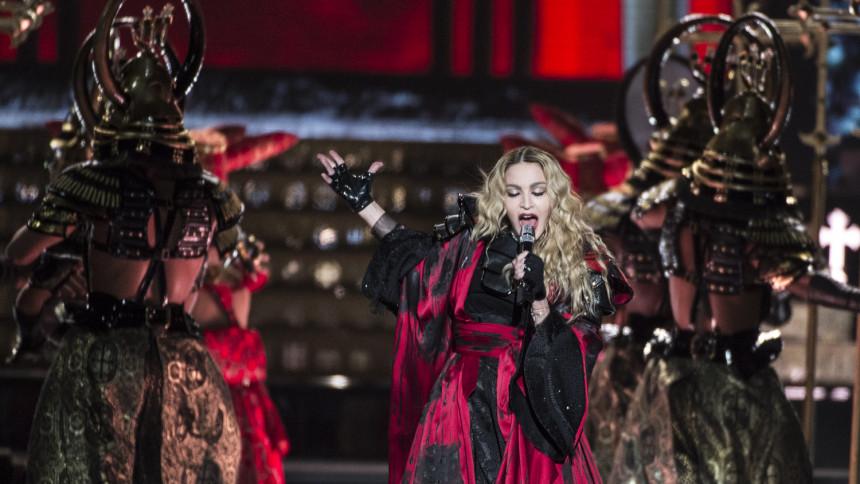 Madonna klar för Eurovisionfinalen