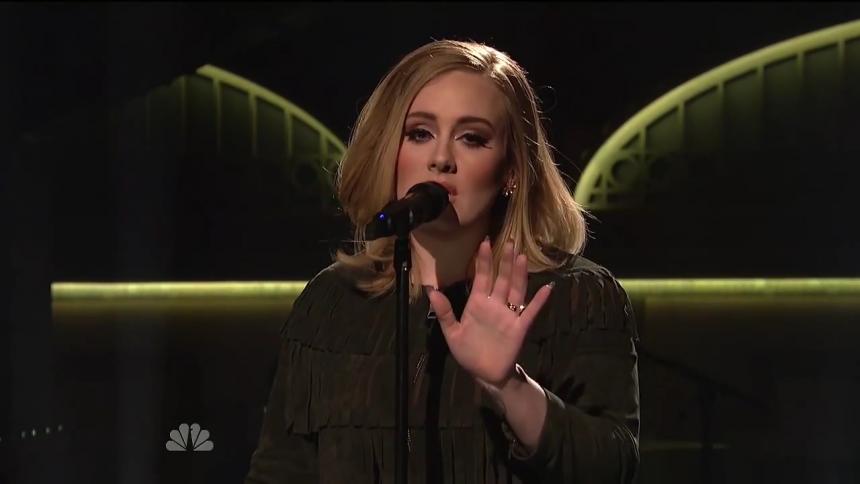 Adele kan ha gjort sin sista livespelning