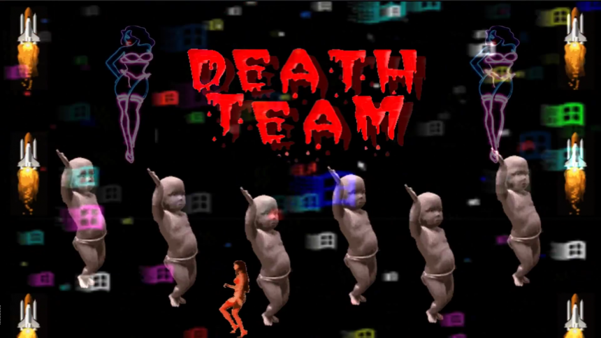 VIDEOPREMIÄR: Death Team - Gold