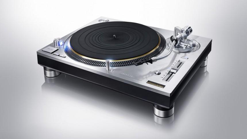 Klassisk vinylspelare tillbaka