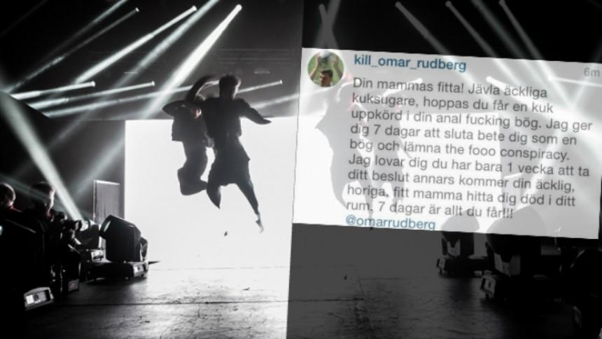 Svensk popstjärna mordhotad – ''7 dagar är allt du får''