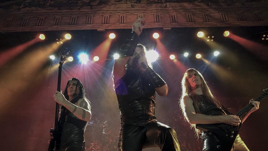 Manowar gör 4 spelningar i Sverige på sin sista turné någonsin