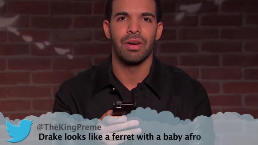 ''Drake ser ut som en iller med babyafro''