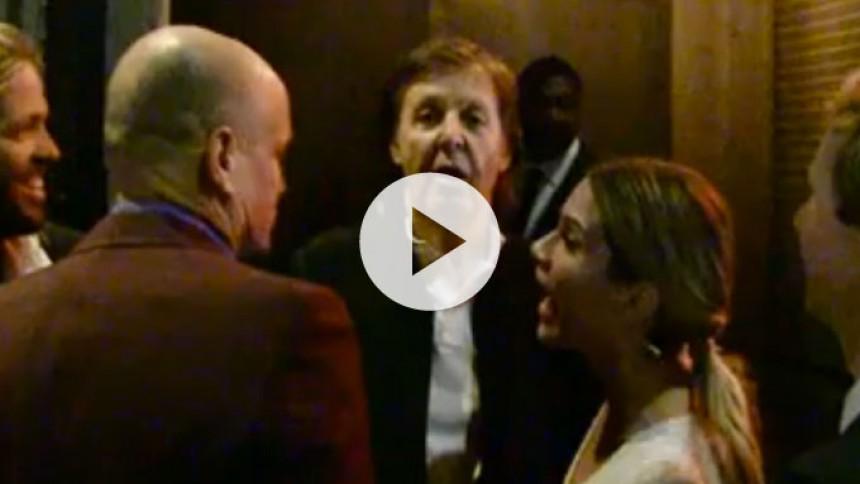 Se Paul McCartney nekas tillträde till Grammys efterfest
