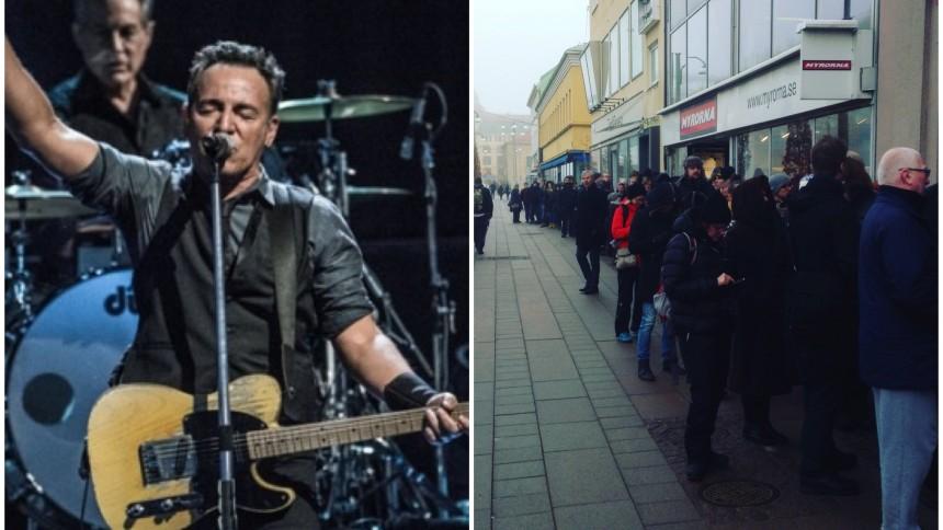 Efter stort biljettryck – Bruce Springsteen ger extrakonsert