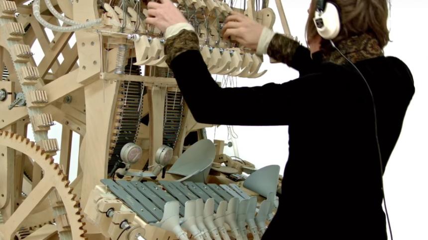 Viral video: Se Wintergatans makalösa manick
