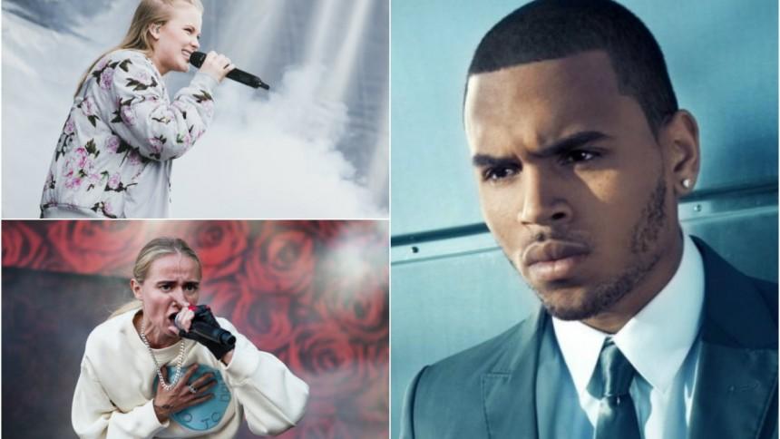 Silvana och Zara till attack mot Chris Brown