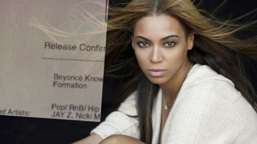 Stora namn på Beyoncés nya album – släpps snart