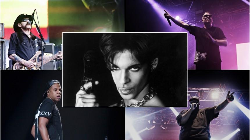 ''När han färgade Slottsskogen lila'' - minnen med Prince