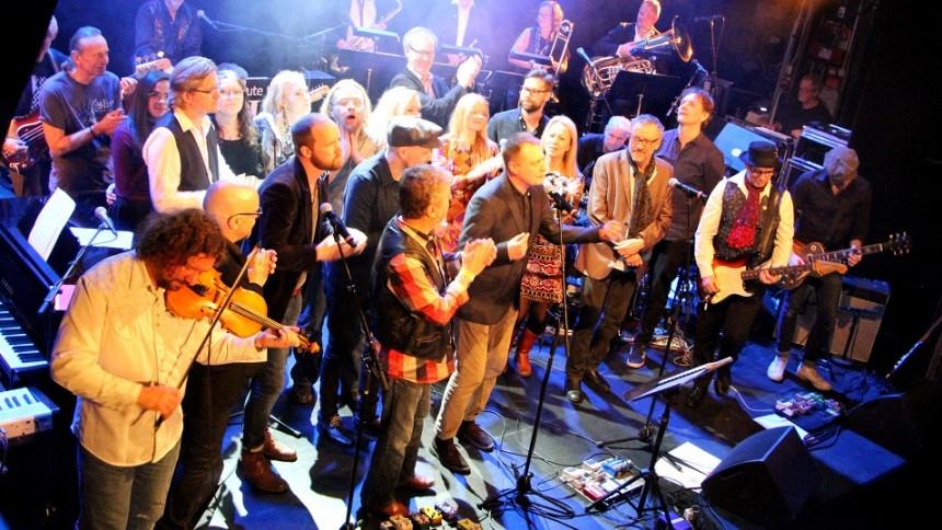 Svenska storheter återskapar legendarisk avskedskonsert