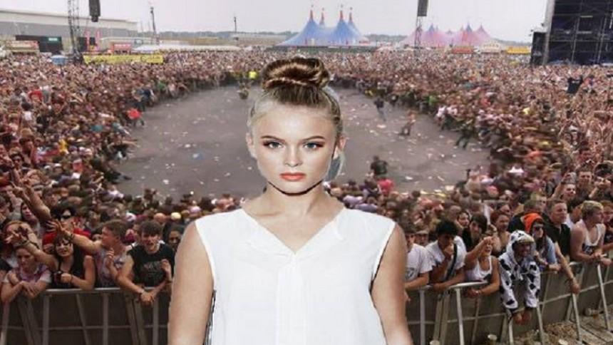 Grupp planerar moshpit till Zara Larsson