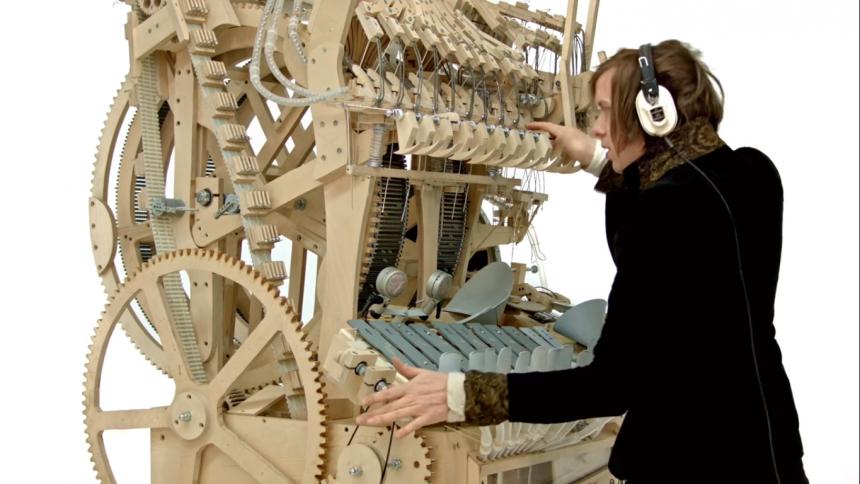 Succén Marble Machine till museum – se hur den nedmonteras