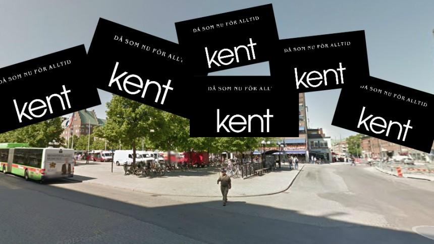 Kent har hamnat i blåsväder