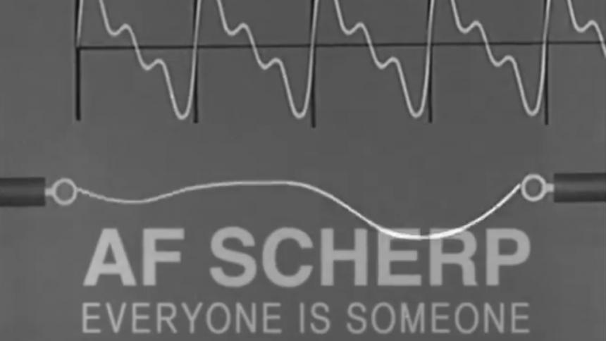 VIDEOPREMIÄR: Af Scherp sticker ut från massan