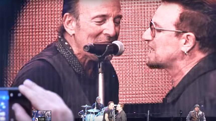 Se Bruce Springsteen och Bono framföra Patti Smith-klassiker