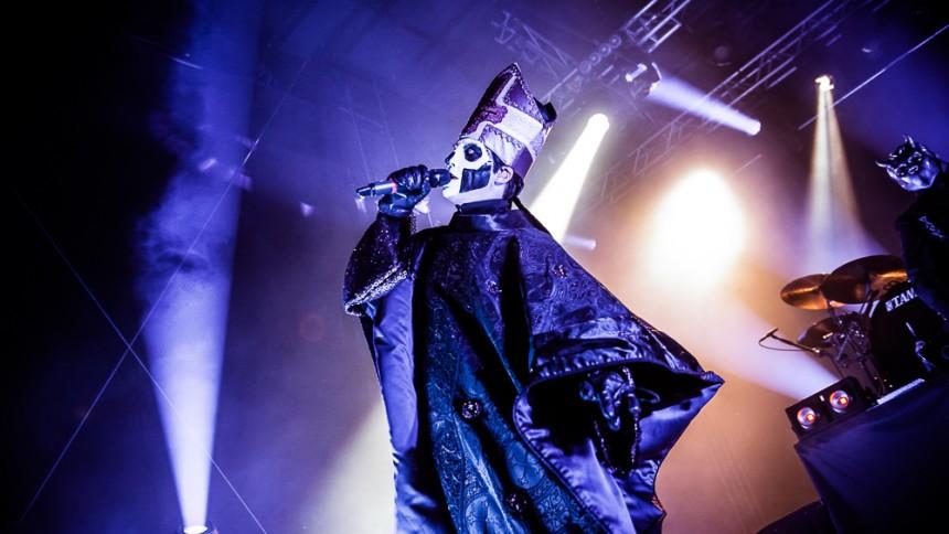 Ghost tvingas ställa in konserter