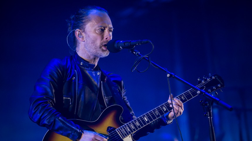 Radiohead till Sverige