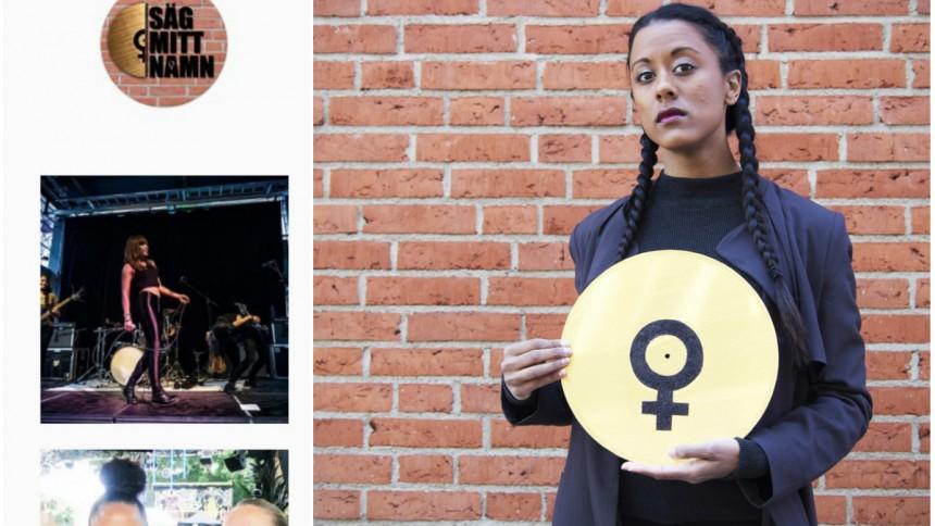 Instagramkonto fokuserar på kvinnor i musikbranschen