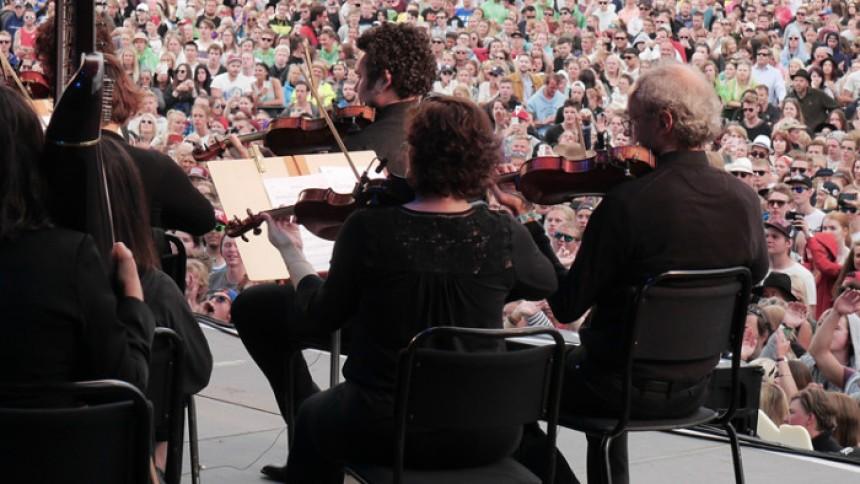 Symfoniorkester goes EDM på Bråvalla