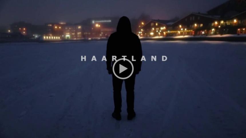 VIDEOPREMIÄR: Haartland om att tiga när det finns ord