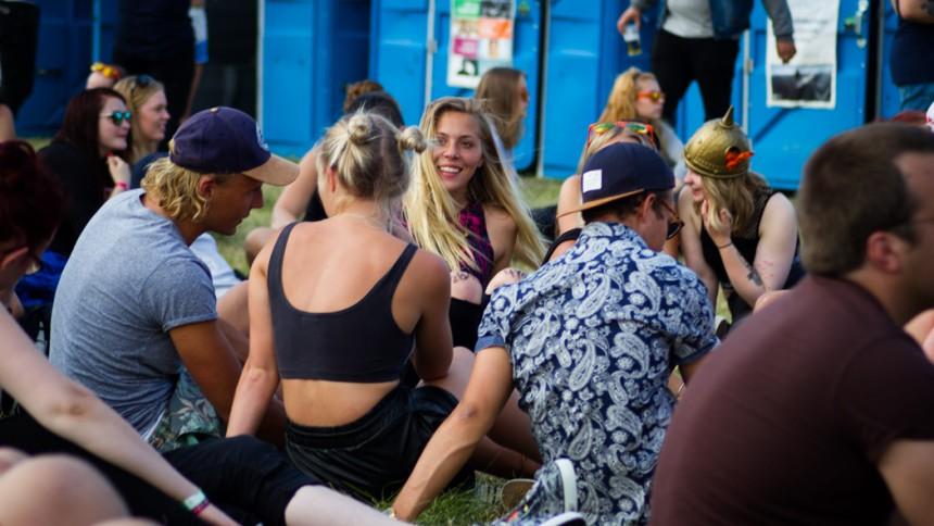 Anmäldes försvunnen på festival – hittades i bajamaja